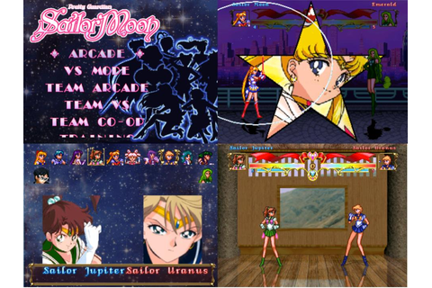 I'm making my own Sailor Moon Fighting Game : sailormoon