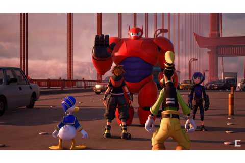 "VIDEO: New ""Kingdom Hearts III"" trailer reveals Baymax and ..."
