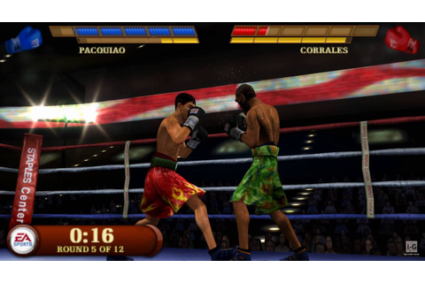 Fight Night Round 3 PSP Gameplay HD - YouTube