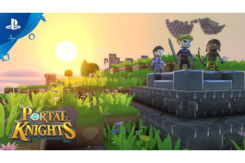 Portal Knights - What is Portal Knights? | PS4 - YouTube