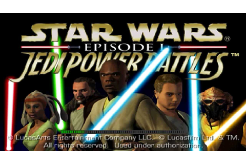 Star Wars Episode I 'Jedi Power Battle' PS1 - Gameplay HD ...
