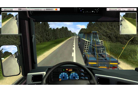 German Truck Simulator Best Russia map part1 - YouTube