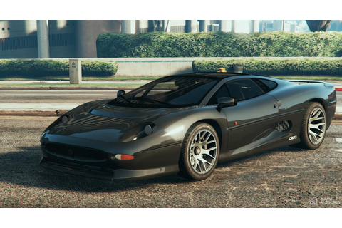 Jaguar XJ220 for GTA 5