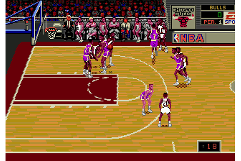 NBA Showdown '94 (1994) by EA Sports Mega Drive game