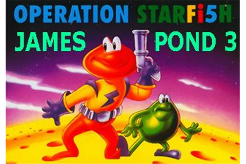 James Pond 3: Operation starfish - Symbian game. James ...