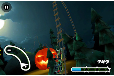 Haunted 3D Rollercoaster Rush iPhone game - free. Download ...