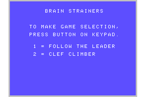 ColecoVision.dk Presents: Brain Strainers.