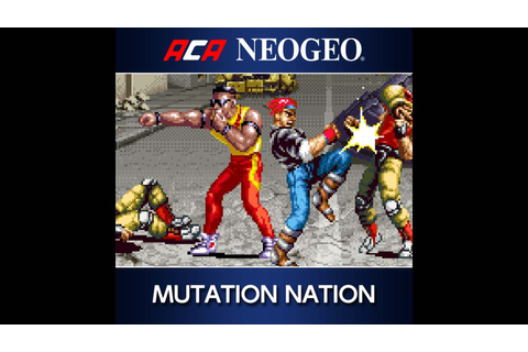 ACA NEOGEO MUTATION NATION Game | PS4 - PlayStation