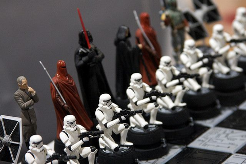 Star Wars Chess Set (Empire) | Star Wars Stuff | Star wars ...