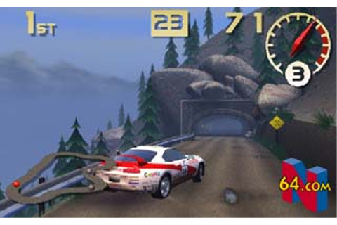 Beta & Cancelled Top Gear Rally Videogames - Unseen64