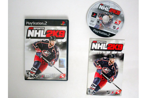NHL 2K9 game for Sony PlayStation 2 | The Game Guy