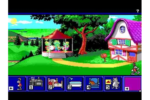 Reader Rabbit's Ready for Letters - DOS - YouTube