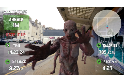 Run from Zombies with the Race Yourself Google Glass App ...