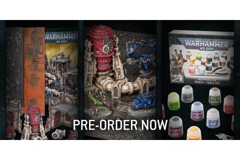 Pre-orders: Starter Sets, Paint Sets and More! - Warhammer ...