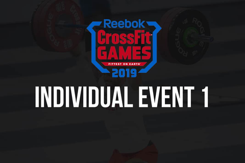 Breaking: Event 1 of the 2019 CrossFit Games Announced ...