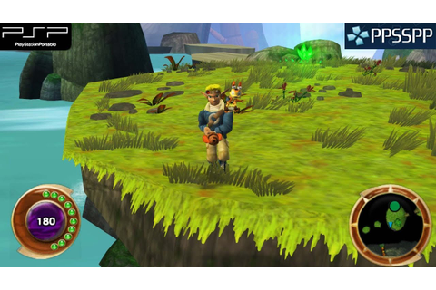 Jak and Daxter: The Lost Frontier - PSP Gameplay 1080p ...