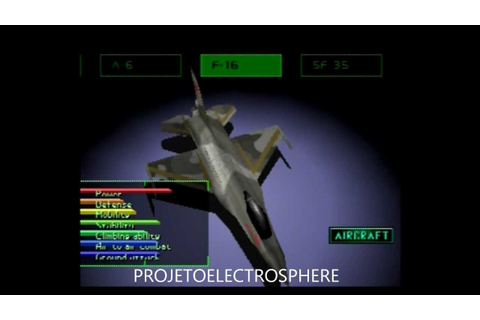 Ace Combat 2 (HD) ALL PLANES - YouTube