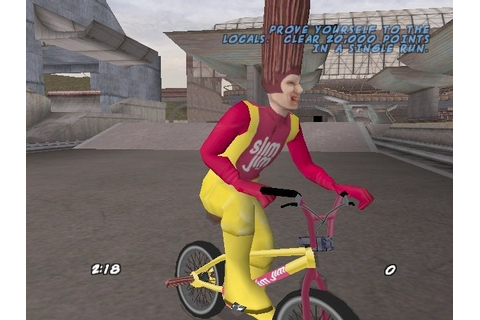 Slim Jim guy from Dave Mirra Freestyle BMX 2 : nostalgia