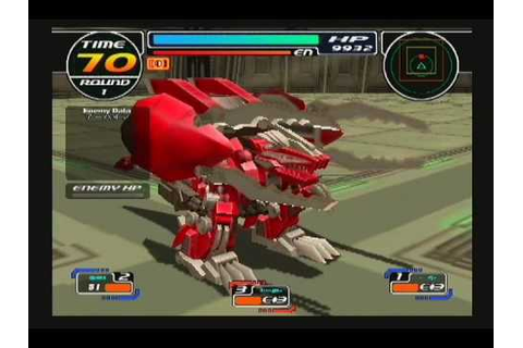 Zoids Infinity Fuzors - Geno Breaker - YouTube