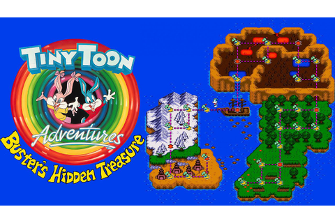 Tiny Toon Adventures: Buster's Hidden Treasure (Sega Mega ...