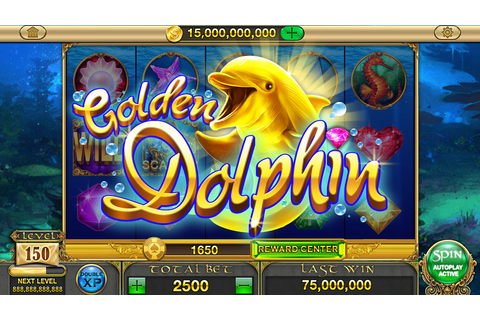 App Shopper: Gold Dolphin Casino Slots - Real Rewards (Games)