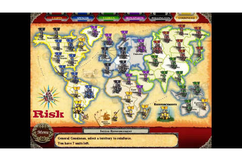 Cousigames Presents Risk - The World Conquest Game (HD ...