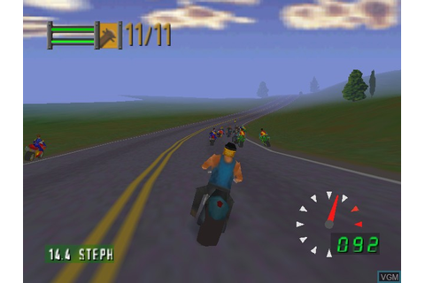 Road Rash 64 for Nintendo 64 - The Video Games Museum