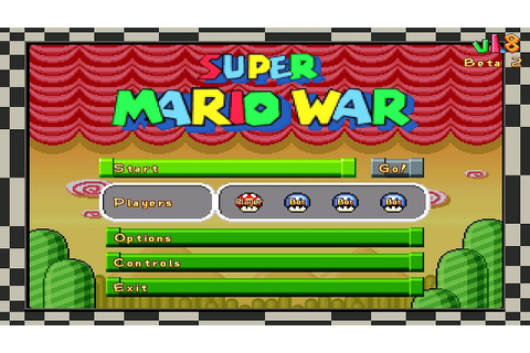 Super Mario War (PC) - YouTube