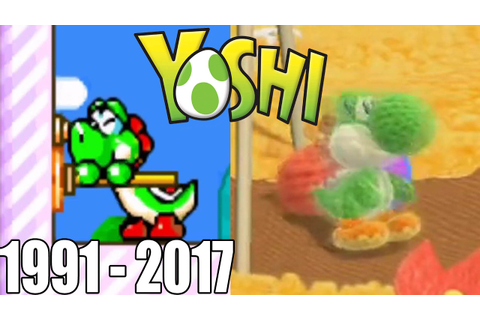 Evolution of First Levels in Yoshi Games ( 1991 - 2017 ...