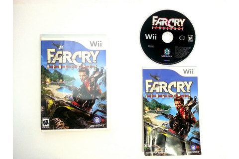 Far Cry Vengeance game for Wii (Complete) | The Game Guy