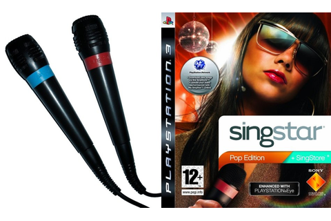 Games - PS3 SINGSTAR POP EDITION GAME WITH SINGSTAR ...