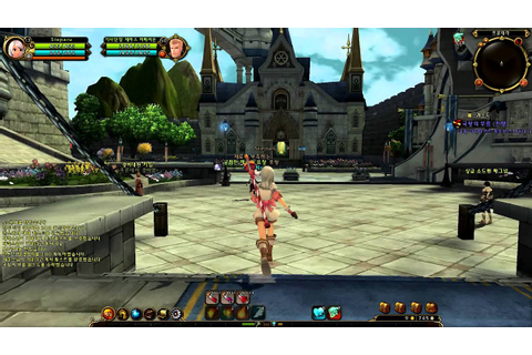 Ragnarok Online 2 Legend of the Second Prontera City ...