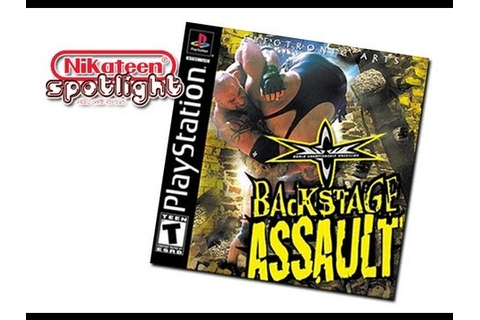 Spotlight Video Game Reviews - WCW Backstage Assault ...