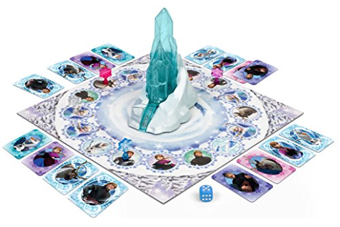 Jumbo Games Disney Frozen Magical Ice Palace Board Game ...