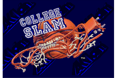 Play College Slam Sega Genesis online | Play retro games ...