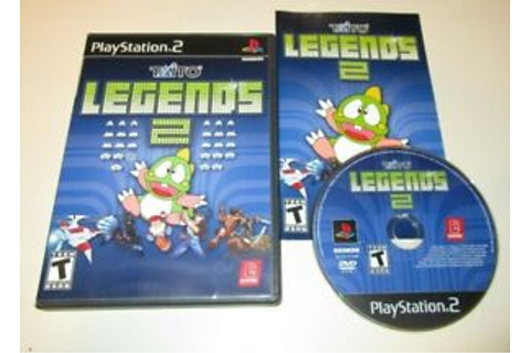 Taito Legends 2 COMPLETE GAME for your Playstation 2 PS2 ...
