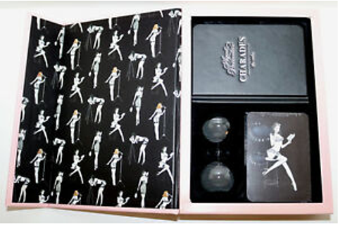 Agent Provocateur CHARADES erotica guessing game box set ...
