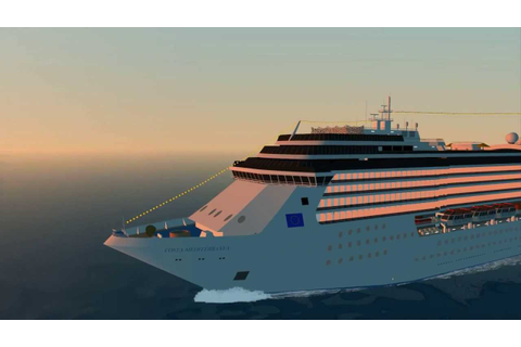 Costa Mediterranea Virtual sailor 7 - YouTube