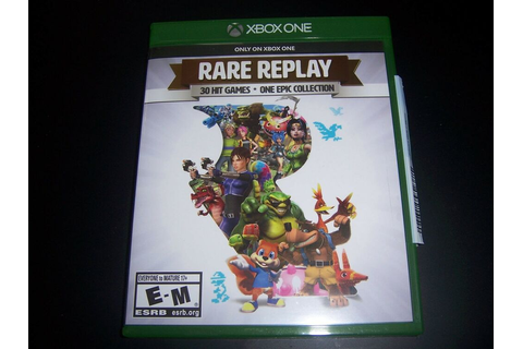 Replacement Case (NO GAME) RARE REPLAY XBOX ONE 1 XB1 ...