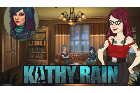 Kathy Rain - Gameplay & First Impressions - YouTube