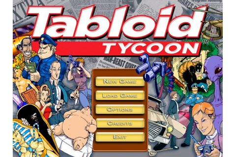 Welcome To My Blog: Tabloid Tycoon