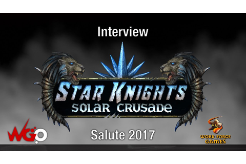 Star Knights Solar Crusade Salute 2017 - YouTube