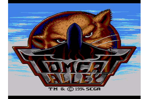 Tomcat Alley Sega CD Game