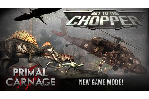 "Primal Carnage ""Get to the Chopper"" Game Mode Trailer ..."