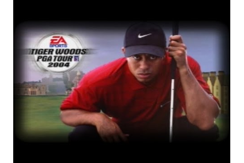 Tiger Woods PGA Tour 2004 - My 1st Go - 1 of 4 - YouTube