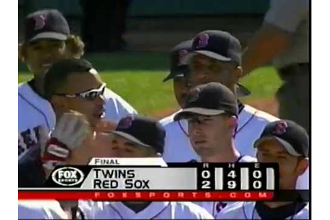 MLB ON FOX 2002 Long Game Ending - YouTube