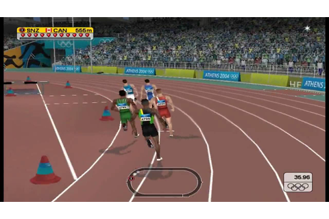 Athens 2004- PC 800M Gameplay - YouTube