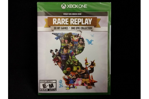 Rare Replay (Xbox One) 30 Hit Games One Epic Collection ...