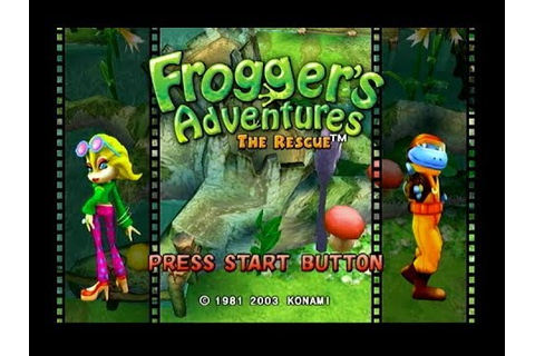 Frogger's Adventures: The Rescue - PS2 (2003) - YouTube