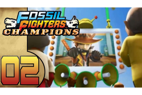 Fossil Fighters Champions (DS) Part 2 (Lets The Games ...